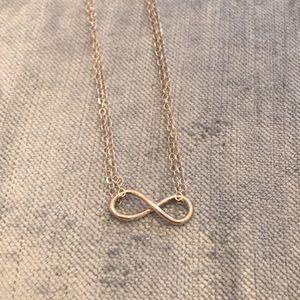 Jewelry - Infinity Charm Silver Necklace